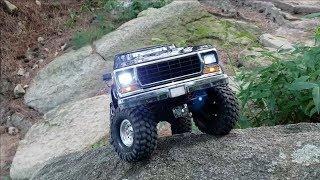 RC카 트랙사스 포드 브롱코Traxxas TRX4 Ford Bronco Rock Crawler