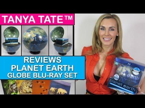 TANYA TATE™ Reviews Planet Earth Globe Blu-ray Set (HD)