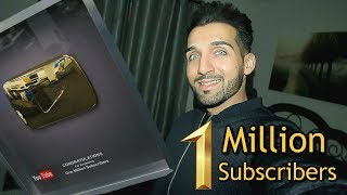 ONE MILLION SUBSCRIBERS (Gold Play Button!!)