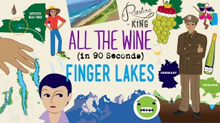 The Finger Lakes in 90 Seconds