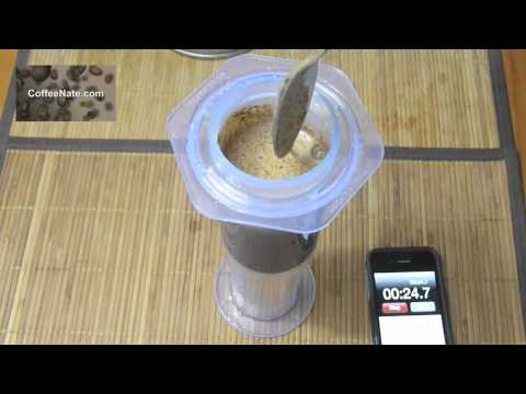 AeroPress Video Tutorial How To :: Inverted AeroPress Video Tutorial