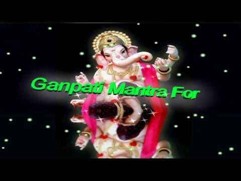 Mantra For Success In Life - Ganpati mantra