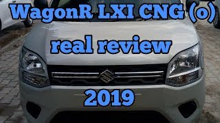 Maruti Suzuki WagonR LXI CNG (o) real review interior and exterior features and price