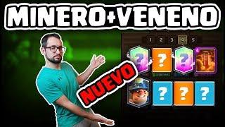 ¡NUEVO MINERO + VENENO ÉPICO! PARTIDAS BRUTALES Y MUCHAS RISAS | Malcaide Clash Royale