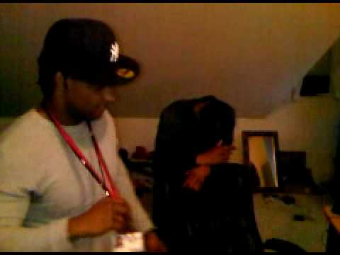 hustle league-setting up half the studio for the first time, fucking around,( long time ago video)