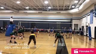 Judah Lyles—Libero/DS—October 6, 2018—Western Tech Tournament