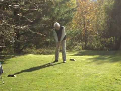 Lenzie Afternoon Circus - Dave Campbell on the 2nd tee Video