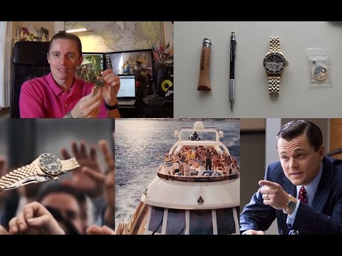 Leonardo DiCaprio's The Wolf Of Wall Street Watch & Film Review - Tag Heuer 1000 Vintage 984.013