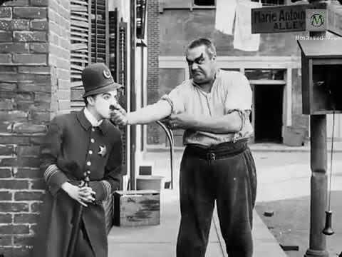 شاهد فيلم العصابات الكوميدي شارلي شابلن الشارع السهل Easy Street 1917 كامل ومترجم