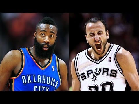 James Harden vs. Manu Ginobili - Comparison