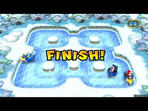 Mario Party 9 ~ Story Mode / Solo - Part 6 ~ Bowser Station - Final Boss: Bowser - Ending/Credits