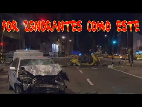 Accidente Carrera Septima con Calle 72 Bogota Si Estan Borrachos No Manejen