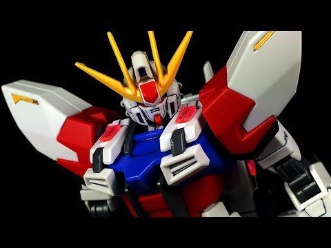 1/144 HGBF Star Build Strike Gundam Plavsky Wing   REVIEW 181