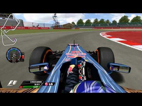 Grand Prix 4 - Daniel Ricciardo - Silverstone Circuit - 2013 - Onboard Lap