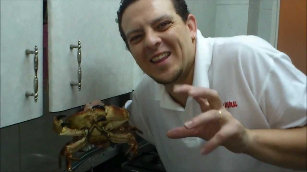 El cocinero tieso como cocer un buey de mar youtube - Como cocinar un buey de mar ...