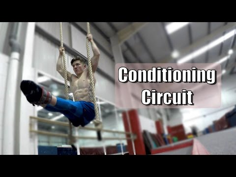 Gymnastics Conditioning Circuit