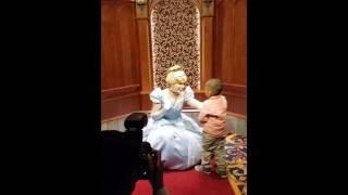 Nicho meets three princesses