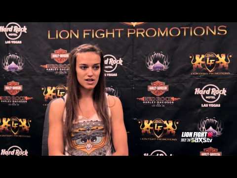 Tiffany Van Soest Lion Fights 8 knockout Alexis Rufus Axis TV, Muay ...