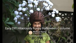 Easy DIY Funny Halloween Costume --- Subscribe To Our Channel or Follow @MelisseHome on Instagram