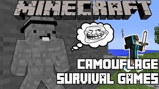 Minecraft | IM DWAYNE THE ROCK JOHNSON | Funny Camouflage Survival Games (FAIL)