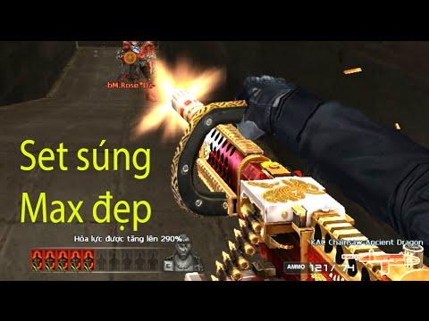 [Đột Kích] Bình luận CF Combo súng Max đẹp '' KAC Chainsaw Ancient Dragon '' | Bình luận CF