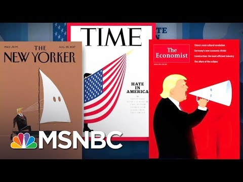Evocative Magazine Covers Call Out Donald Trump On Charlottesville | The 11th Hour | MSNBC