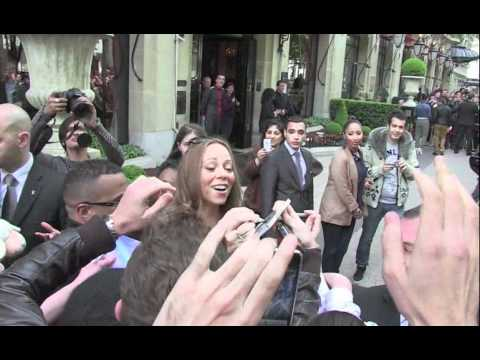 Mariah Carey shopping at Alaia store in Paris