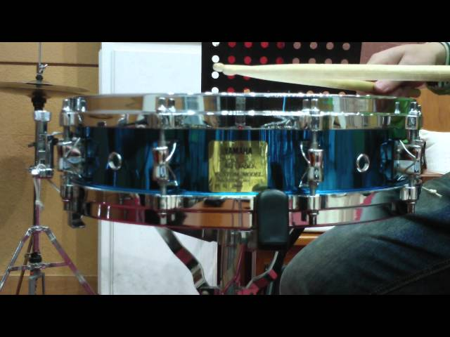 YAMAHA David Garibaldi Signature Snare Drum with ZOOM Q3HD