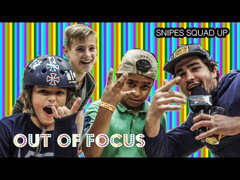 Out of Focus:  Snipes #SquadUp (Rob Maatman, Shajen Willems, Kevin Tshala)