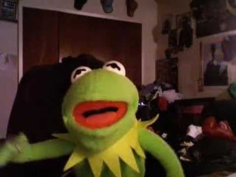 Kermit The Frog Reacts To 2girls1cup video