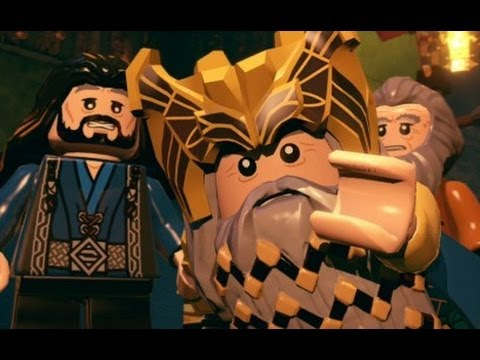 LEGO The Hobbit (PS4) Walkthrough Part 1 - Greatest Kingdom...