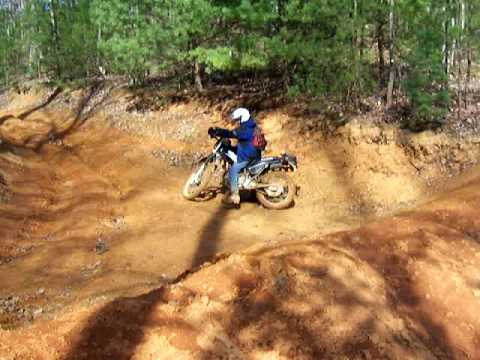 Buffalo Mountain, TN on a Super Sherpa dirtbikewnc.com Video