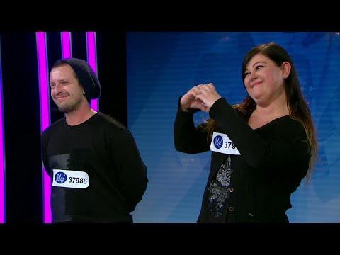 Monika och Kryztof får juryrummet att börja gunga - Idol 2017 - Idol Sverige (TV4)