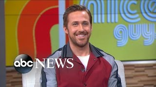 Ryan Gosling on Eva Mendes, 'The Nice Guys'