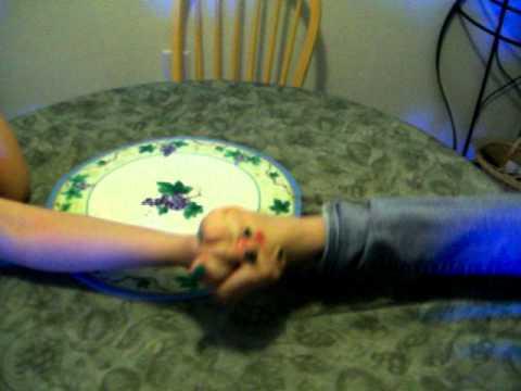 Foot wrestling?