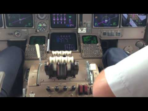 Взлет Пхукет Трансаэро Боинг 747-400