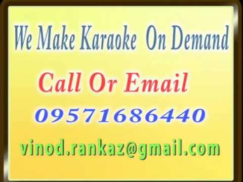 Disco Deewaane   Karaoke    Part 1  Disco Deewane