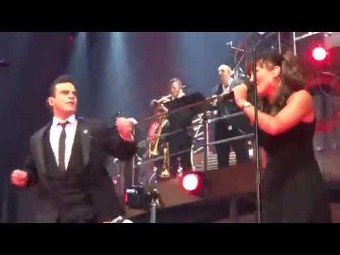 Robbie Williams - Cigarettes & Alcohol / Proud Mary (FRONT ROW) - 23-Sept-14 Brisbane HD