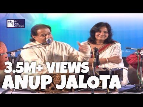 Bhajan Samrat Anup Jalota | Jag Mein Sundar Hain Do Naam | Idea Jalsa - Surat video