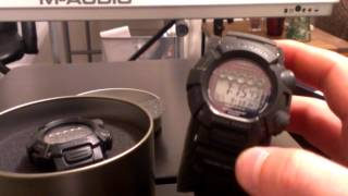 Mudman GW9000 Casio G-Shock Watch Comparison / Review GW9000a-1 & GW9000-1JF Atomic Solar