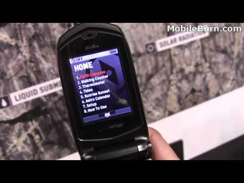 Casio G&#039;zOne Rock for Verizon - first look
