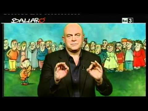 "MAURIZIO CROZZA – Ballarò 21/02/2012 – Lo ""Spreca-thlon"""