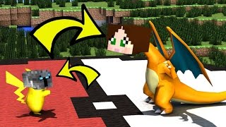 Minecraft: BECOMING A POKEMON IN REAL LIFE!! - Would You Rather - Mini-Game