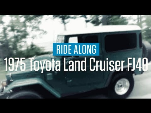 1975 Toyota Land Cruiser FJ40   Ride Along