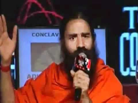 Baba Ramdev Strong Response to Chetan Bhagat in IT Conclave 2012 (Full)