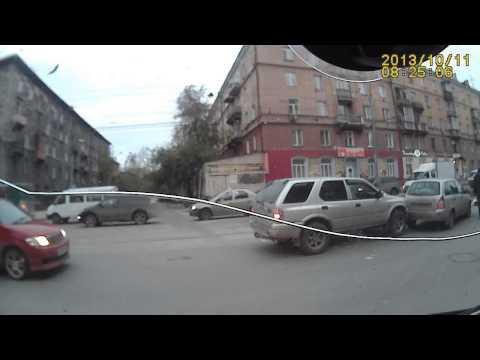 Сбили парня и столкновение машин