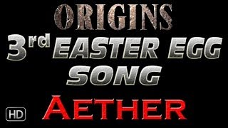 """3rd Song Easter Egg Tutorial - """"Aether"""" - Origins Zombies"""