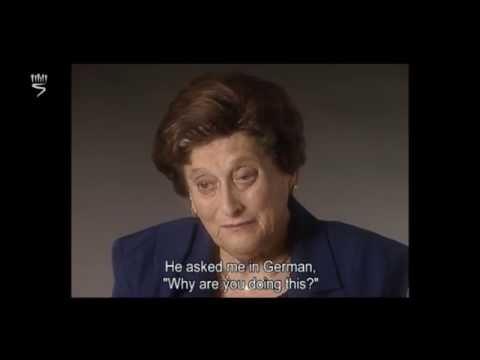 Holocaust survivors Lea Holits and Valeria Juhasz talk about the mass murder at Alt-Hauland