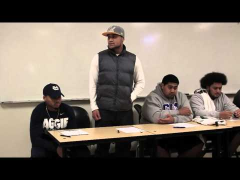 Sam Atoe - DB College of San Mateo - 2014 Cal Signee