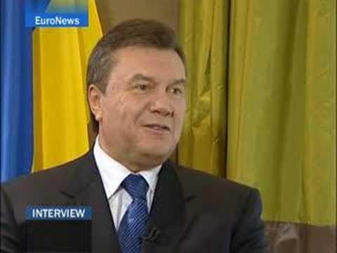 EuroNews - EN - Interview: Viktor Yanukovich